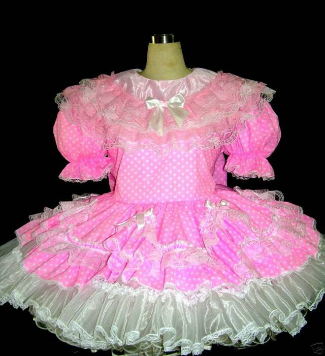Pretty Pink Satin Sissy Dress 5x - Prices, Reviews, & Product
